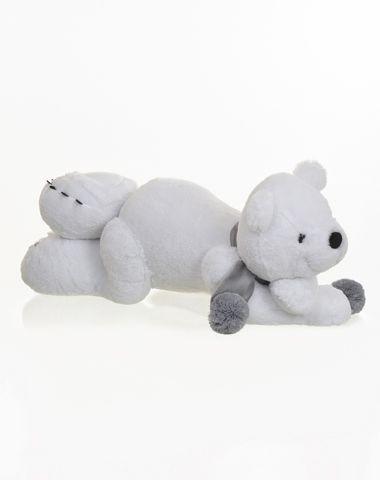 Urso de Pelúcia Polar Deitado