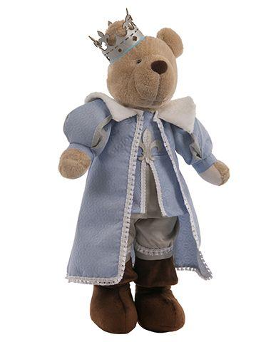 Urso Rei - Azul claro