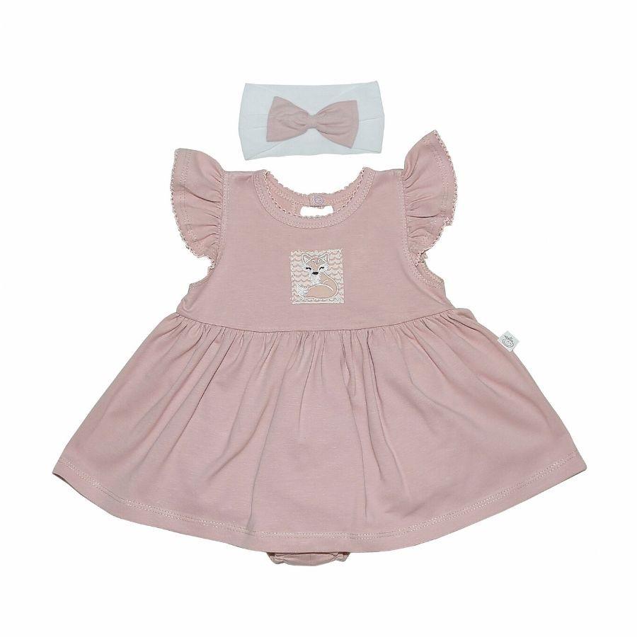 Vestido C/ Body Embutido - Rose Raposa