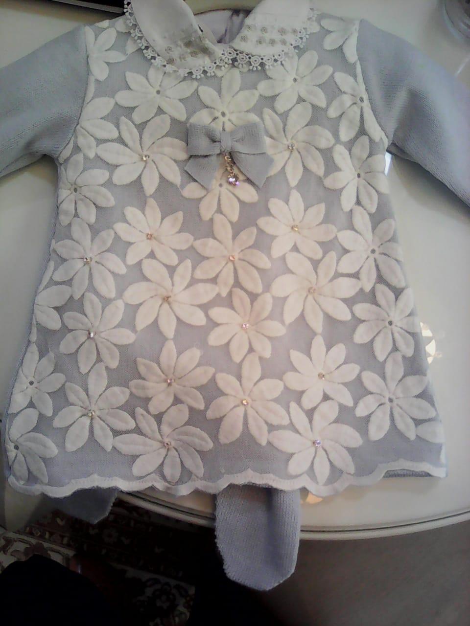 Vestido margarida c/ body
