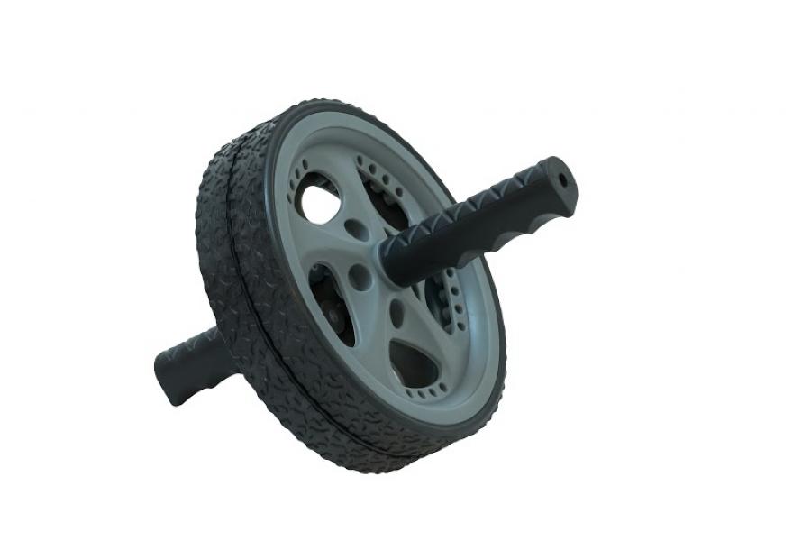 Roda de Exercícios Abdominais Wellness