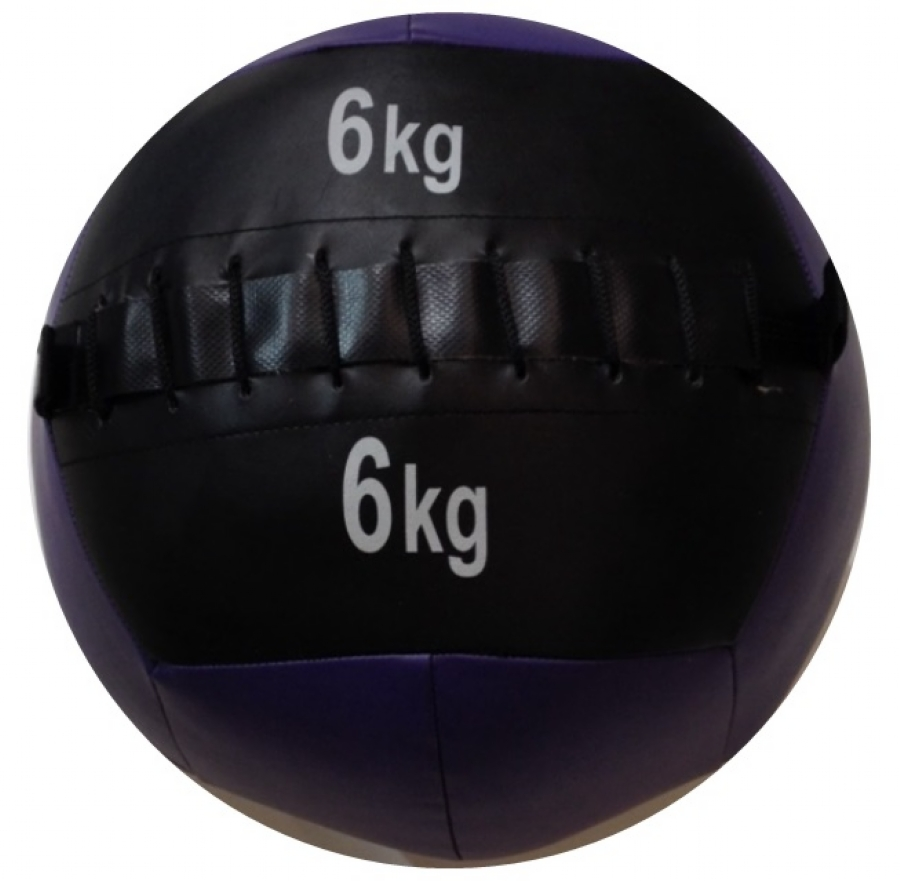 Wall Ball em PU 6,00kg Wellness