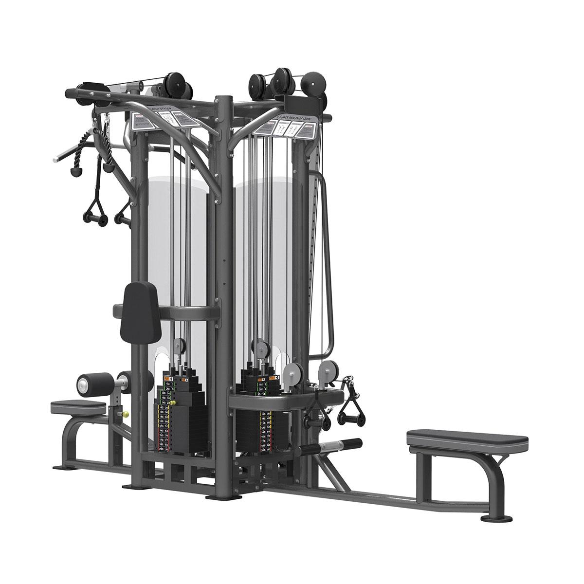 4 Station Muti Gym  (4 x 200 lbs) sob encomenda