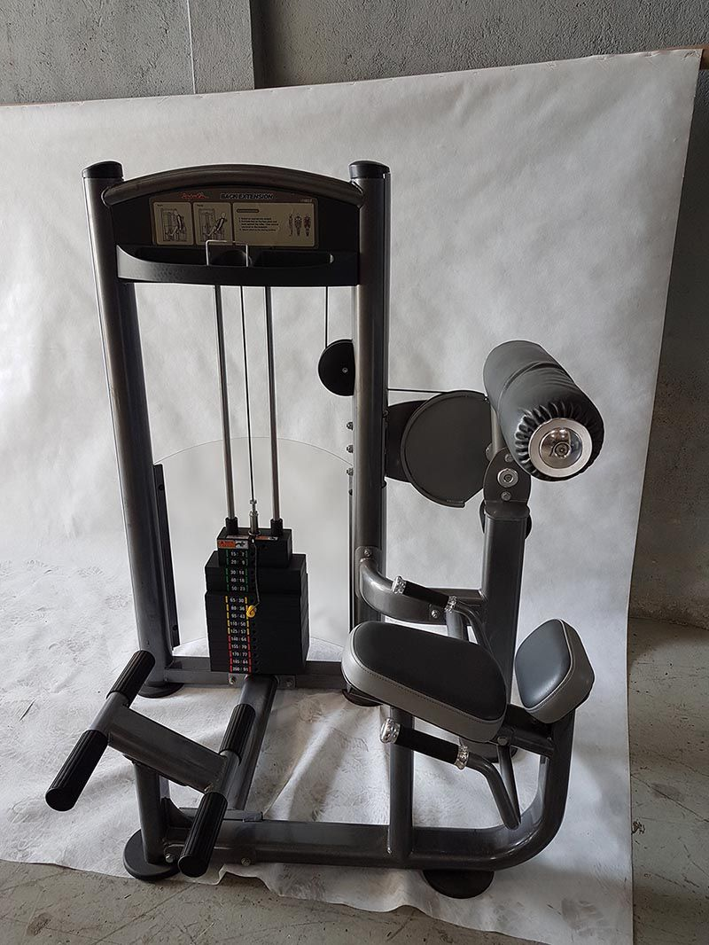 Back Extenion 200lbs (90 kgs) IMPULSE - (Peça Showroom)