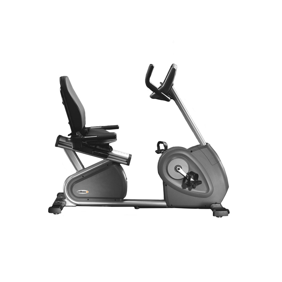Bike Horizontal Eletromagnética H 7000 Wellness