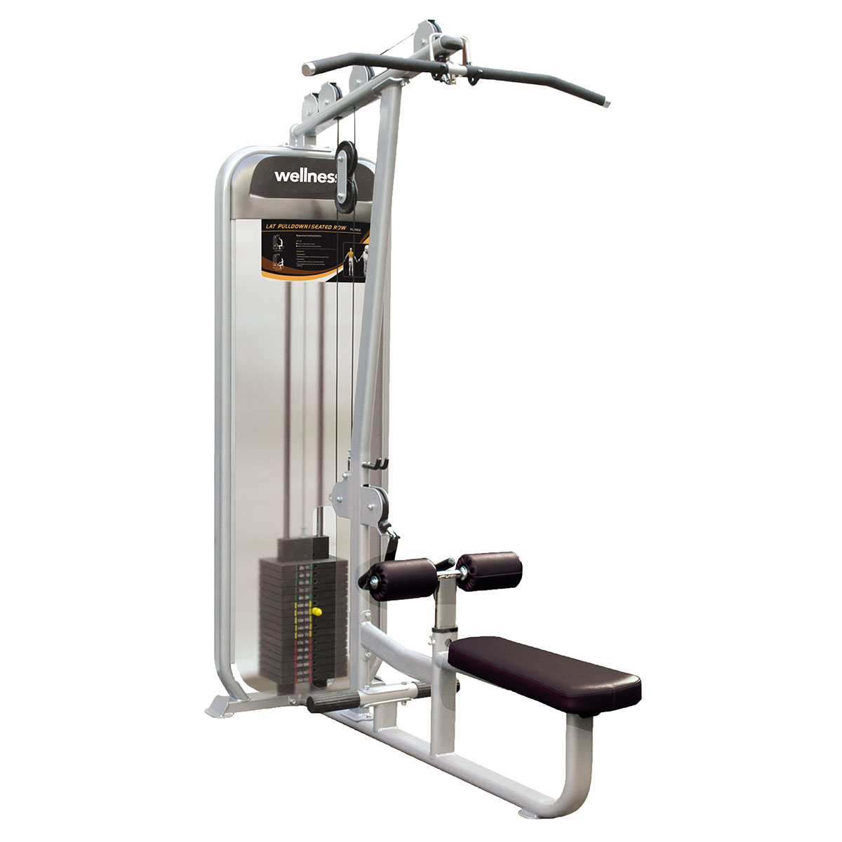 Lat Pull/Seate Row - Plamax Dual Series Wellness