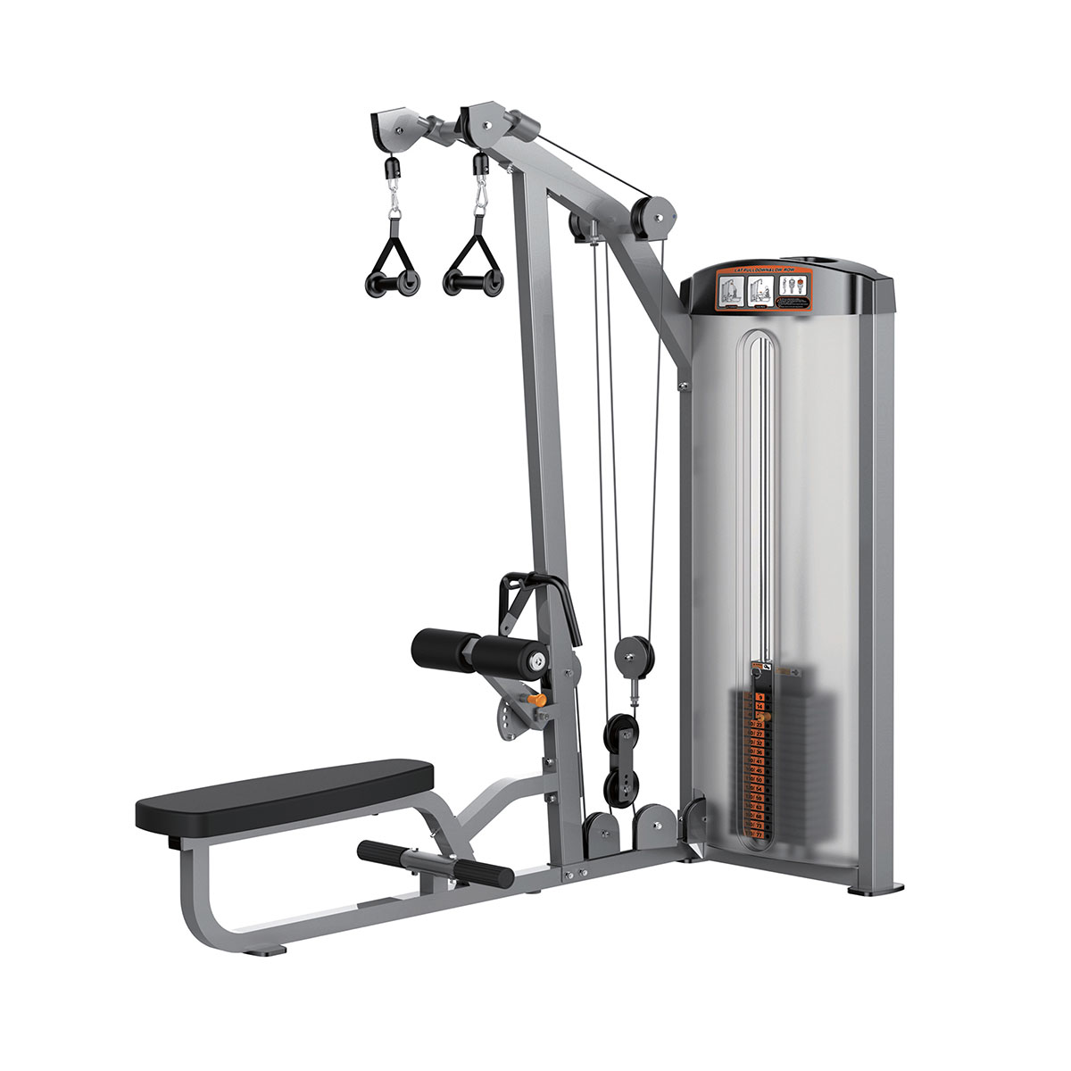Lat Pulldown / Low Row - 250 lbs