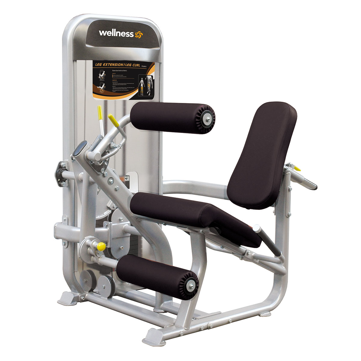 Leg Ext/Leg Curl  - Plamax Dual Series Wellness