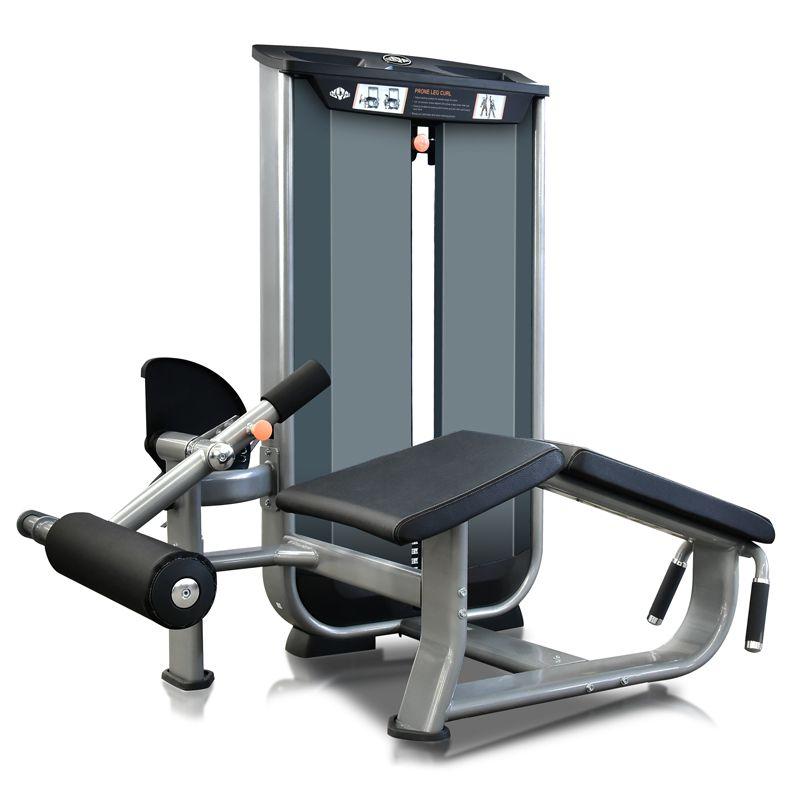 Prone Leg Curl (flexora deitada) VITA - 180 lbs (81 kg)