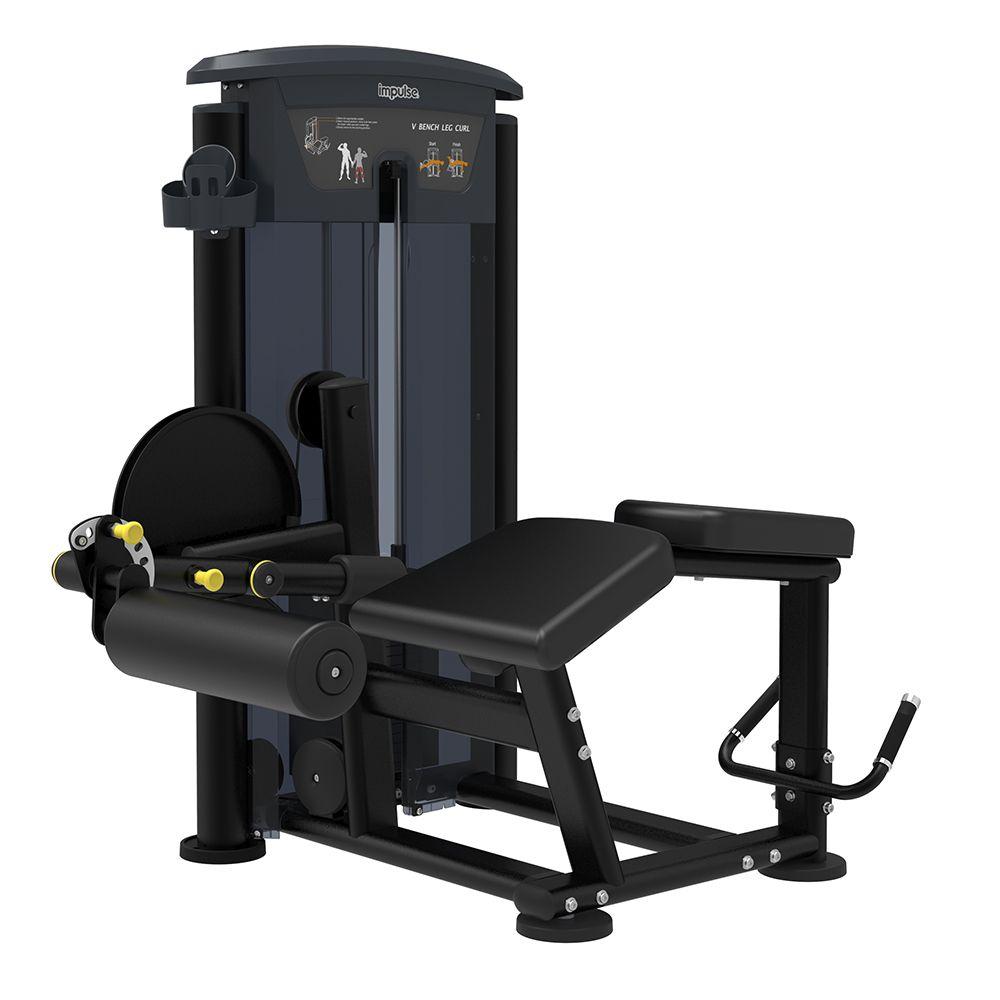 Prone Leg Curl New IT - 200 lbs (90 kg)