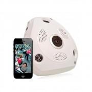 Câmera IP Panorâmica 360º WiFi Full HD 2.0MP 1080p