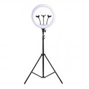 Iluminador LED Ring Light 14 Polegada Tripé 2mt Profissional