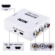 Mini Adaptador Conversor AV2HDMI 1080p