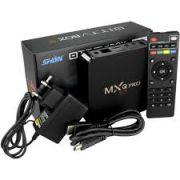 TV BOX SMART 4K 16G MEMÓRIA INTERNA 3G RAM MXQ4K PRO