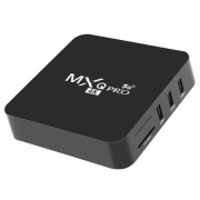 Tv Box Smart 4K 64GB Memória Interna 8GB Ram MXQ4K-PRO Android 10.1