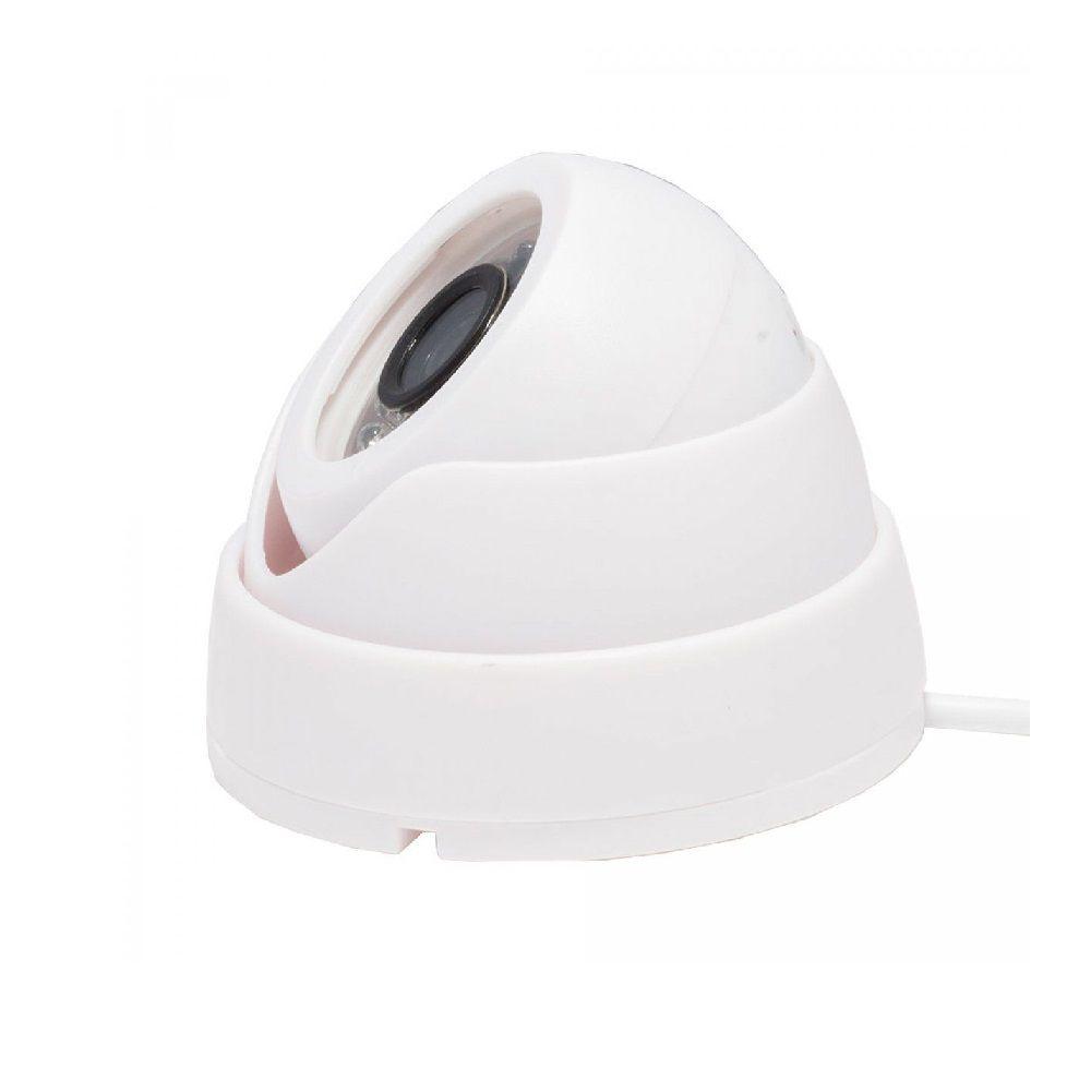 Câmera Dome AHD 1MP 720p com lente 2.8mm