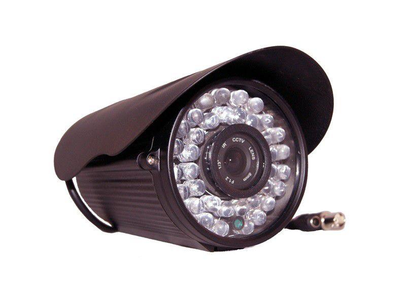 Câmera Infravermelho 1/3 Sony 960 Linhas Lente 8.0mm Ultra Led