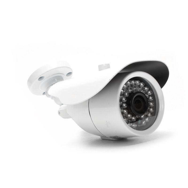 KIT Câmera IP 1.0MP HD 720p lente 2.8mm com fonte