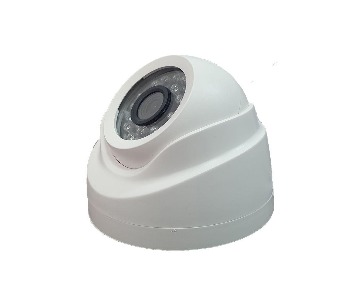 Câmera IP Dome HD 1.0 MP 720p com lente 2.8mm