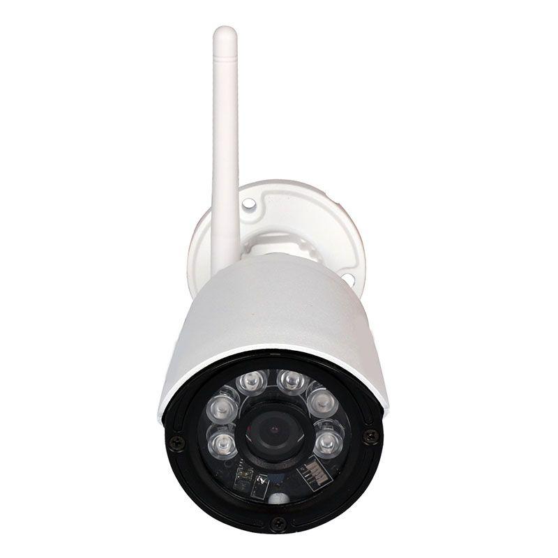 Câmera IP sem fio 2.0MP 1080p Full HD suporta cartão SD 128GB