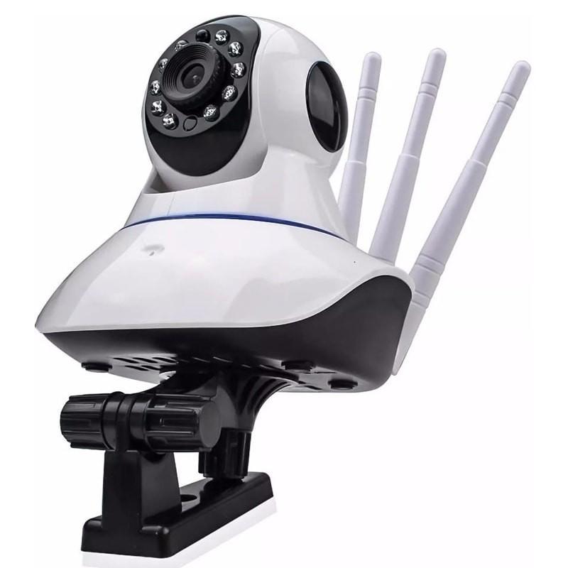 Câmera IP wifi HD YOOSEE 3 antenas 360º áudio
