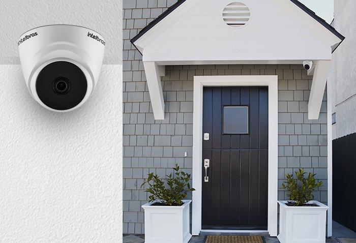 Câmera Segurança Intelbras HD 720p VHL 1010 D