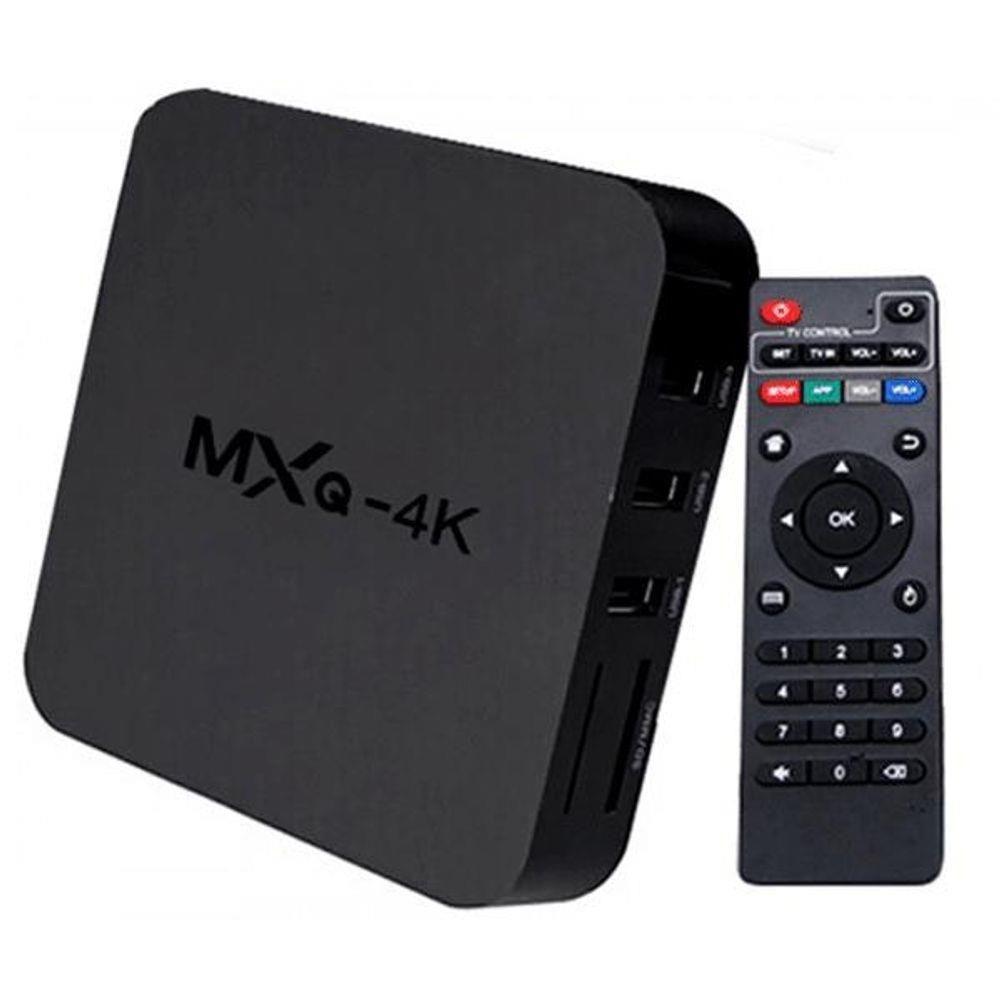 Conversor Smart TV 4K 4G Ram 32GB Memória Interna WiFi 5G