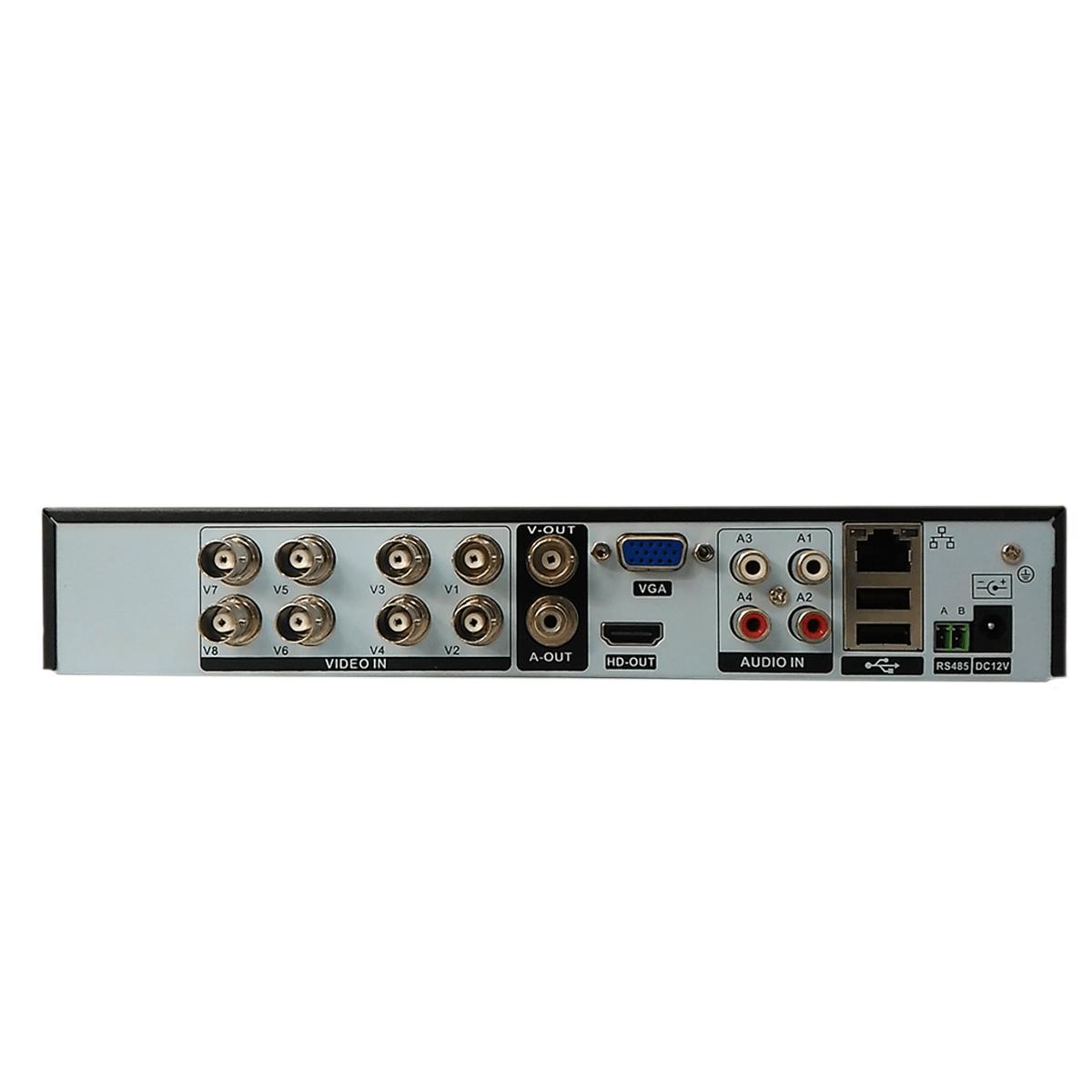 DVR Gravador 8 Canais Pentaflex 5 Em 1