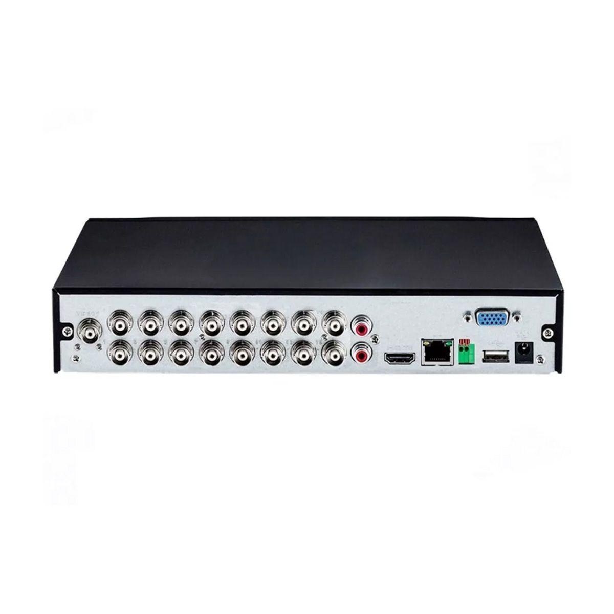 DVR Gravador INTELBRAS MHDX 1116 16 Canais 1080p H265+