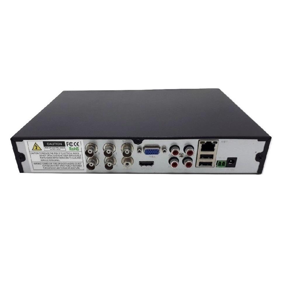DVR NVR Gravador 4 Canais Pentaflex 5x1 XMEYE