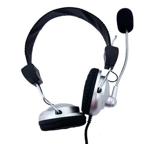 Fone de Ouvido Headphone Estéreo Com Microfone SY301