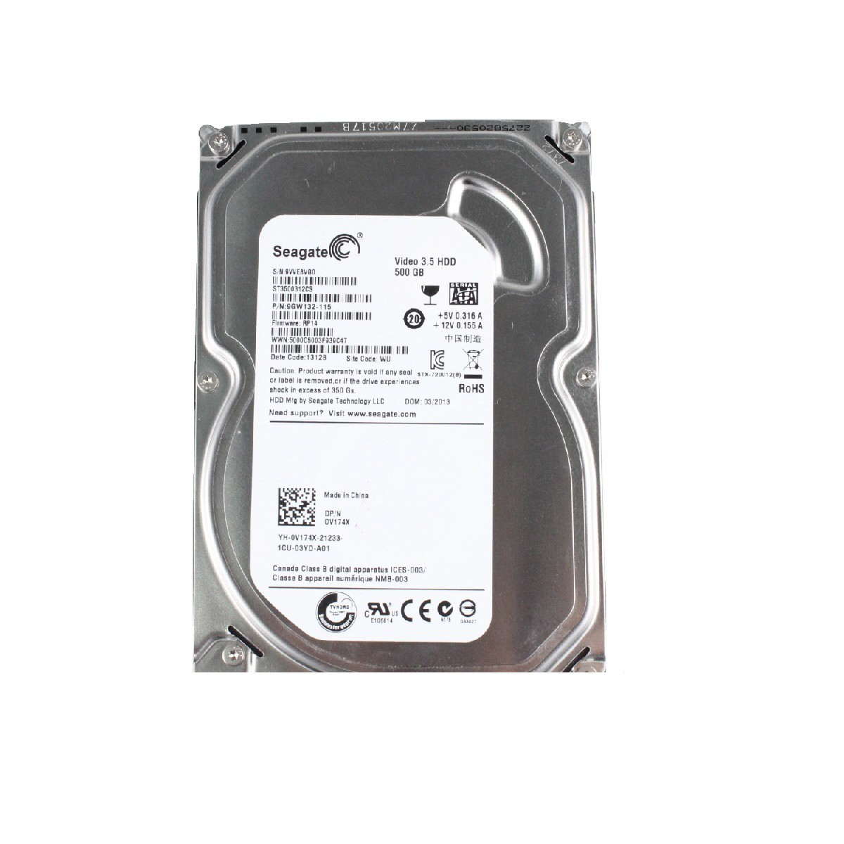 HD DIGITAL 500GB SATA
