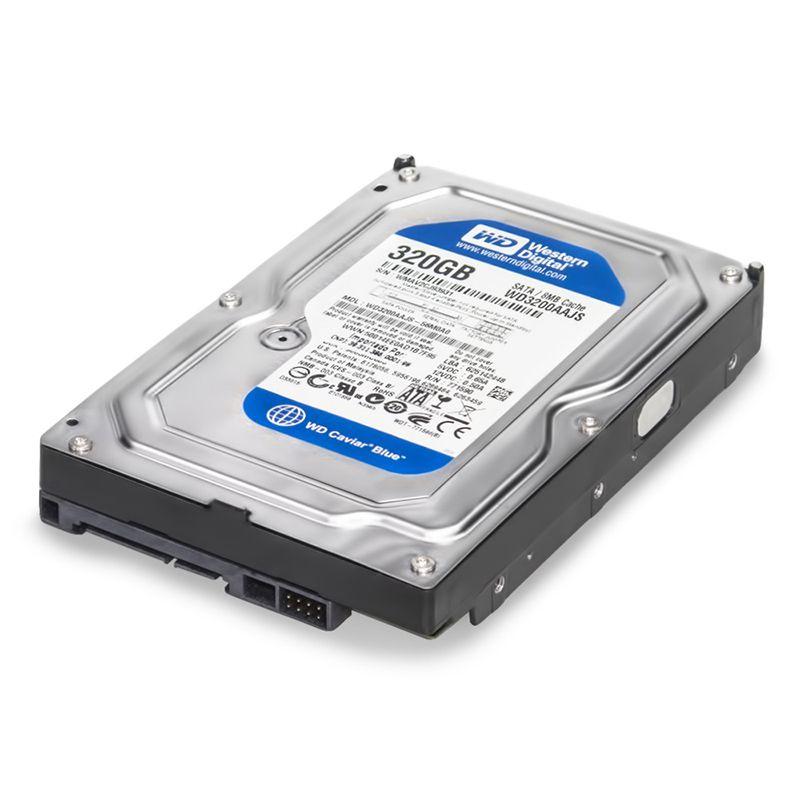 HD WD 320GB Sata II 3.0gb/s 8mb Cache 7.200rpm 3.5