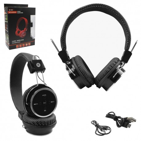 Headphone Sem fio Bluetooth 4.1 Celular Micro SD FM P2 B05