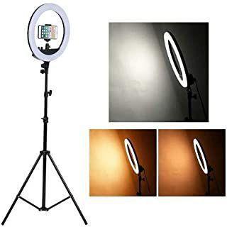 Iluminador LED Ring Light 10 Polegadas com Suporte Tripé 2mt