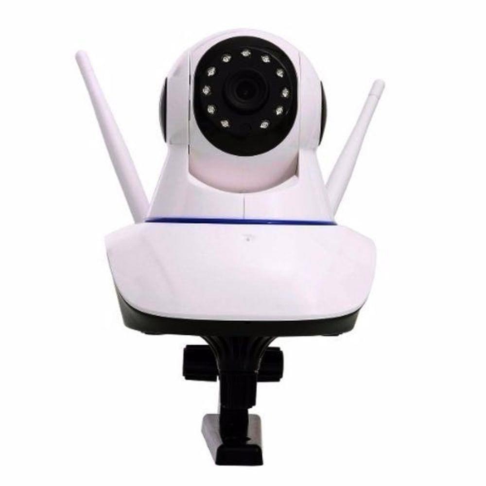 Kit 2 Câmeras de Segurança IP Full HD 1080p Wifi PTZ + DVR/NVR Pentaflex 5 em 1 + Fonte 12V