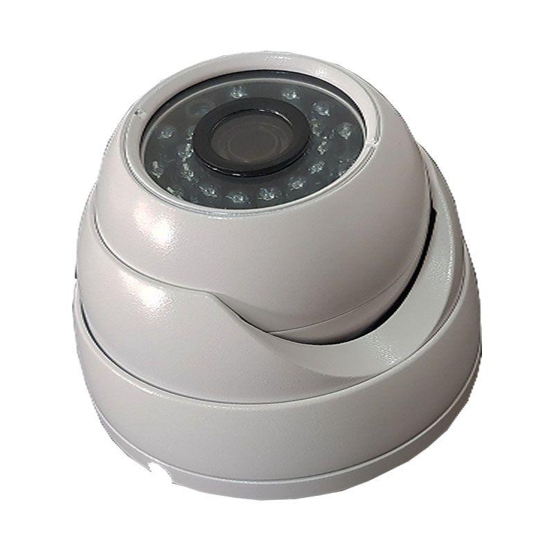 KIT Câmera IP Dome FULL HD 2.0 MP 1080p com fonte