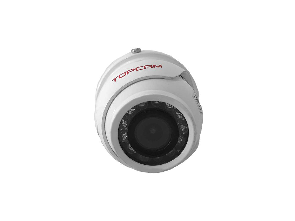 Mini Câmera Dome Multi HD 1.0 MP 720p HD Lente 2.8mm AntiVandalismo