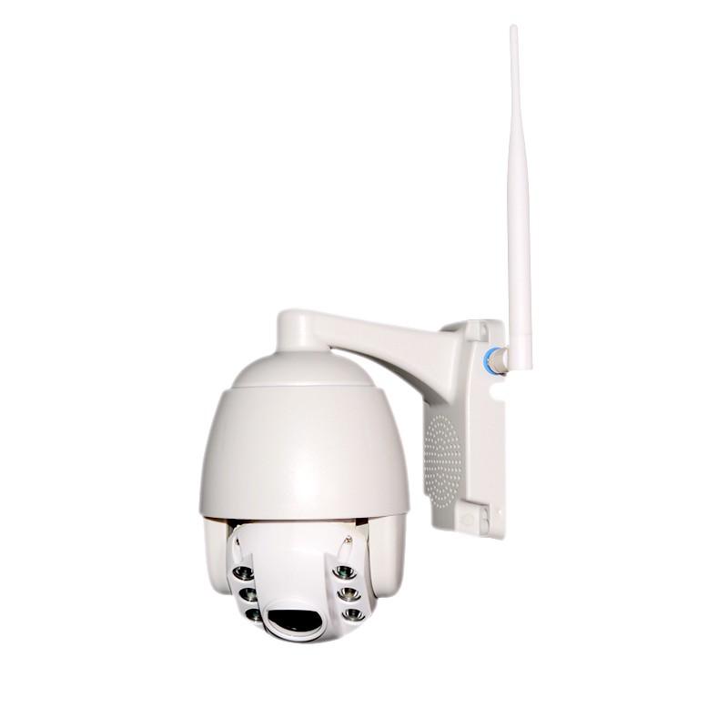 Mini Speed Dome IP Full HD 2.0MP Zoom 4x suporta cartão SD 128GB