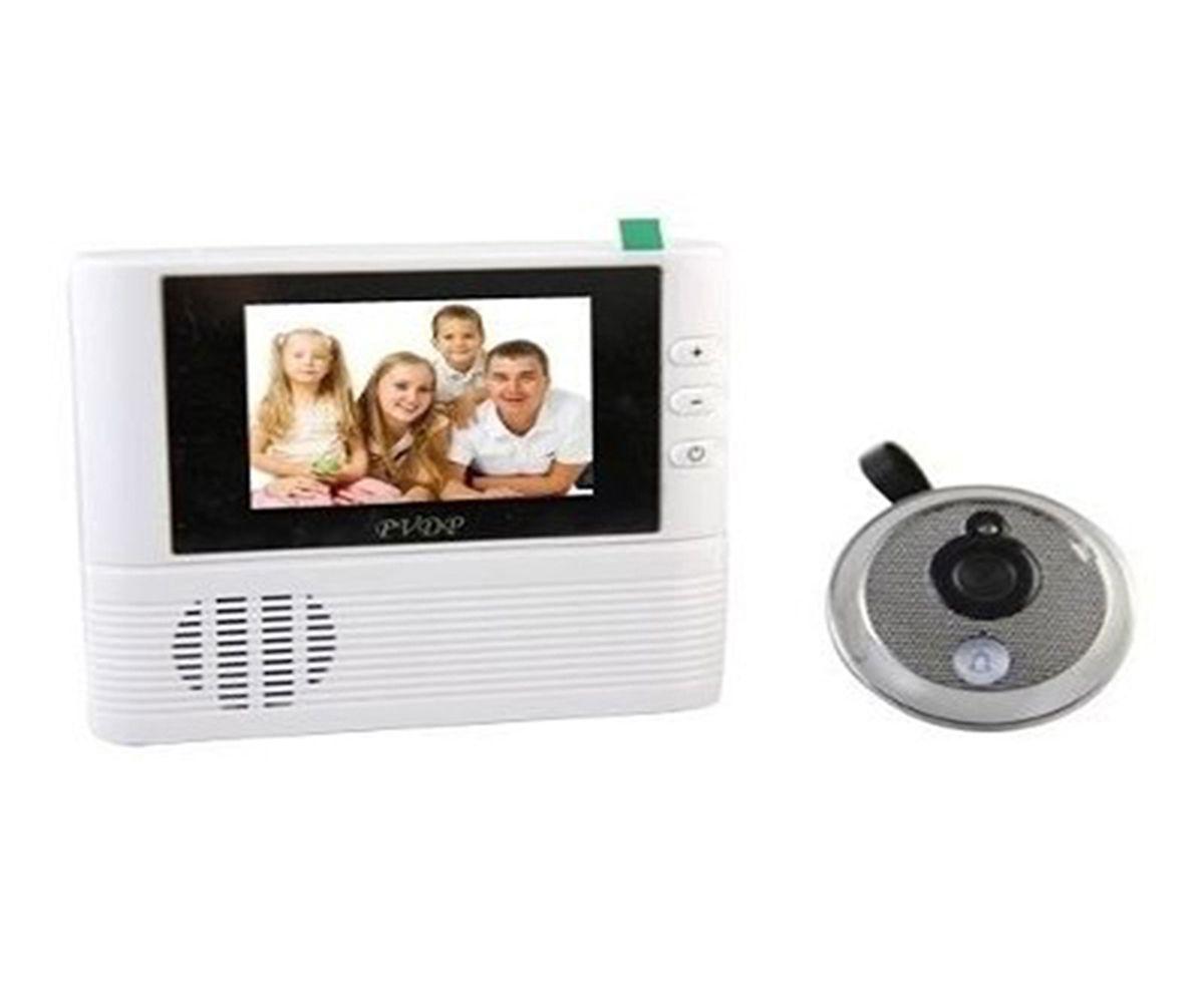 Olho Mágico Digital com Tela LCD