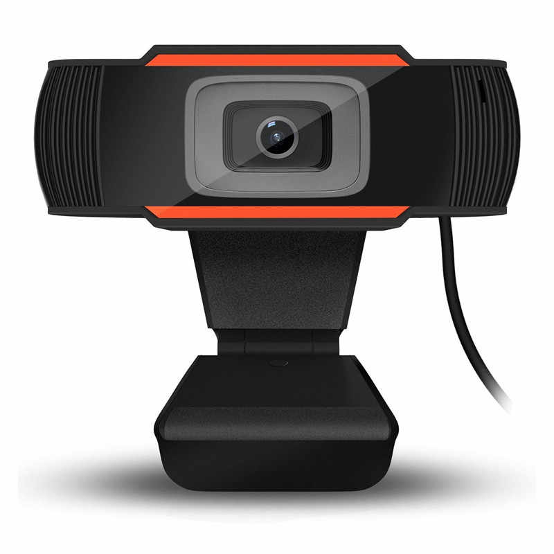 Webcam FULL HD 1080p USB Visão 360º com microfone