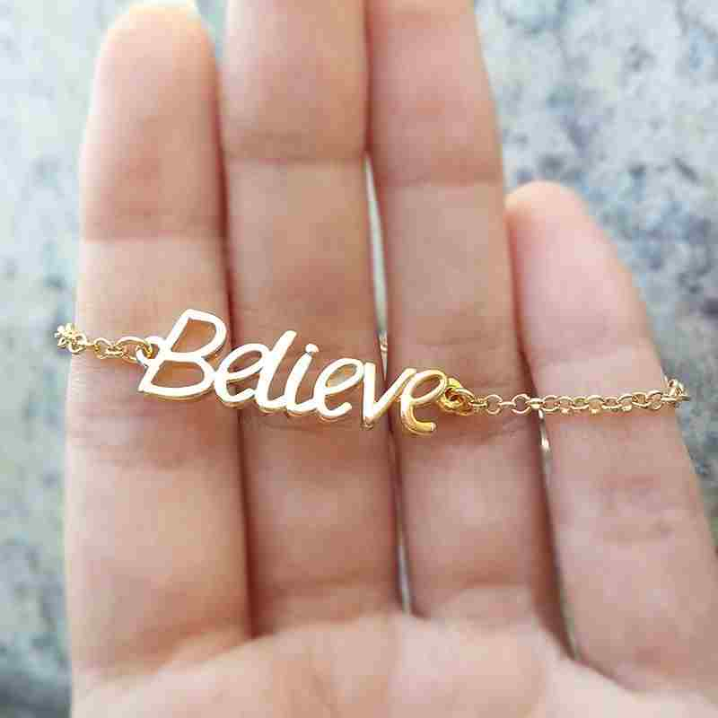 Pulseira Believe Ouro 18K