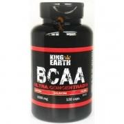 Bcaa Ultra Concentrado 120 Cápsulas 3000mg - King Earth