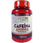 CAFEÍNA ANIDRA (420 MG por cápsula) 120 Capsulas - KING EARTH (Termogênico)