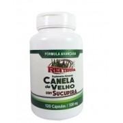 Canela De Velho + Sucupira + Vitamina C + Vitamina E 120 Cápsulas 500mg - Rei Terra