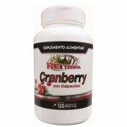 Cranberry 120 Cápsulas 500mg - Rei Terra