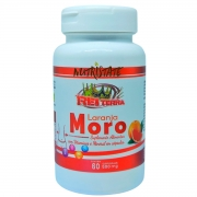 Laranja Moro + Vitaminas A + E + C + Zinco 60 Cápsulas 500mg - Rei Terra