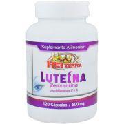 Luteina Zeaxantina + Vitamina C e A 500mg 120 Cápsulas - Rei Terra