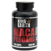 Maca Peruana 120 Cápsulas 500mg - King Earth