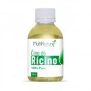 Óleo de Ricino 100% Puro Para Crescimento Capilar e Alopécia 60ml - Multinature